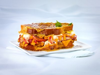 Drum roll please: All-American grilled cheese sandwich winner