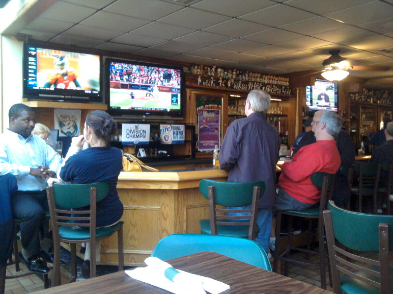 The bar is a longtime Bluemound Road destination for the big game - or just dinner and drinks.