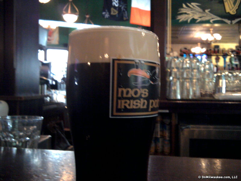 Get your Guinness at Mo's.