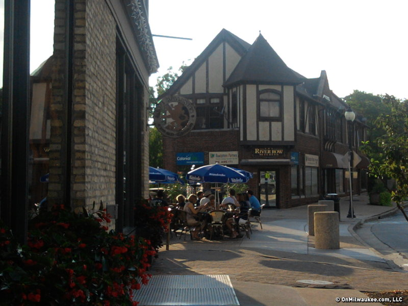 The Cafe Hollander in the Tosa Village blends in perfectly with its picturesque surroundings.