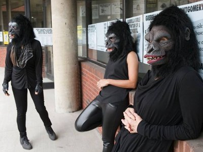 Guerrilla Girls take over MIAD