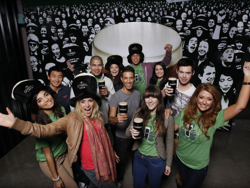 Join Guinness drinkers around the globe for a record-setting St. Patrick's Day.