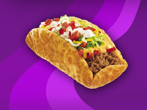 The Taco Bell chalupa