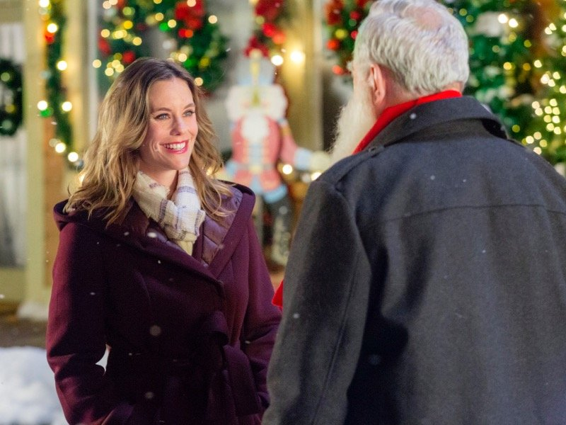 ashley williams stars in christmas in evergreen on the hallmark channel - Hallmark Christmas Commercial