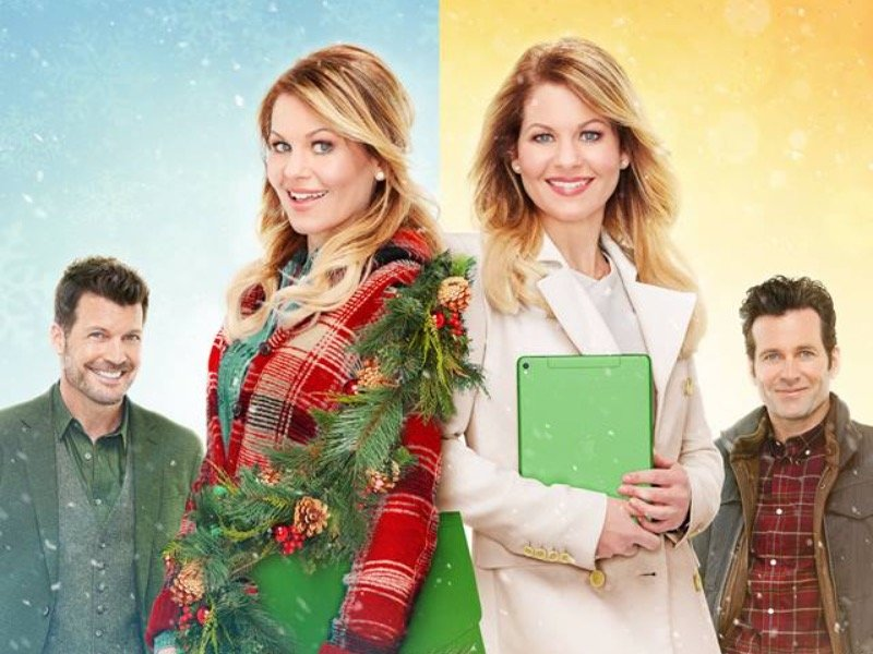 16044a45 Does double the Candace Cameron Bure equal double the Christmas cheer?