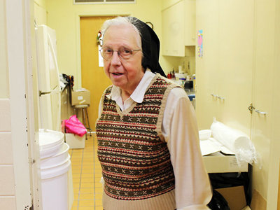 Happy Birthday, Sr. GeorgeAnn! May you (and the fruitcake) live long & prosper