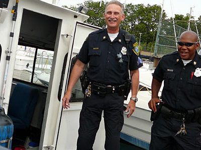 Wisconsin State Patrol Police Trooper Bobble Head New in Box
