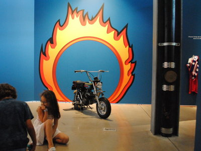 Evel exhibit adds to Harley Museum's kid-friendly offerings