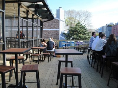 New patio at The Harp