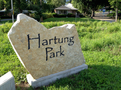 Hartung Park built on 400 million years of history Image
