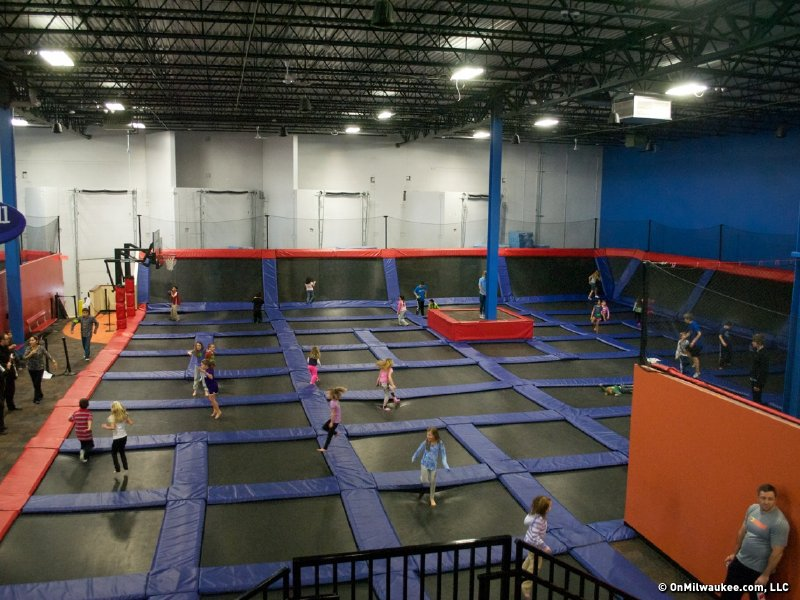 helium trampoline park mixes exercise with excitement. Black Bedroom Furniture Sets. Home Design Ideas