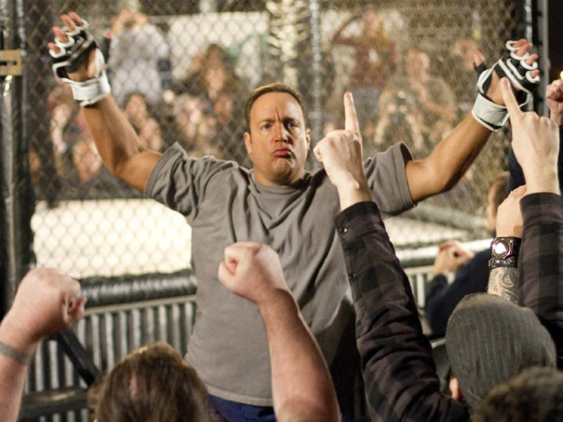 "Kevin James stars in ""Here Comes the Boom,"" in theaters Friday."