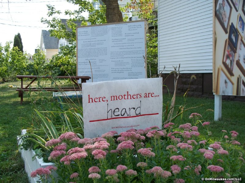 """Here, mothers are""... heard."