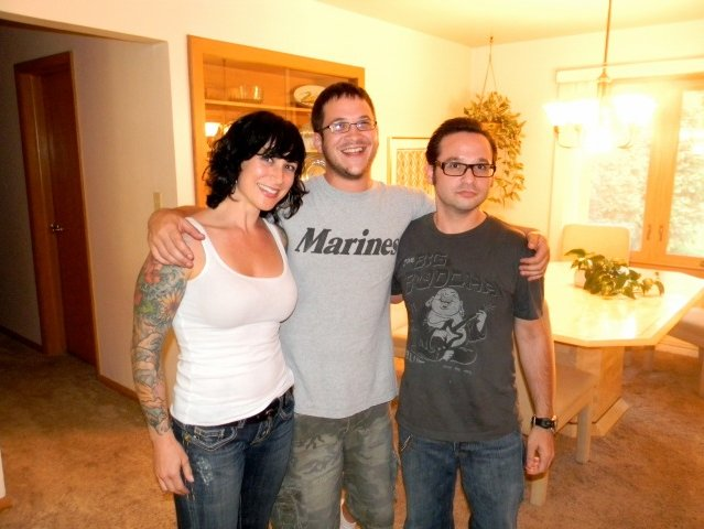 Lindsay and her brothers Noah (center) and Jesse.