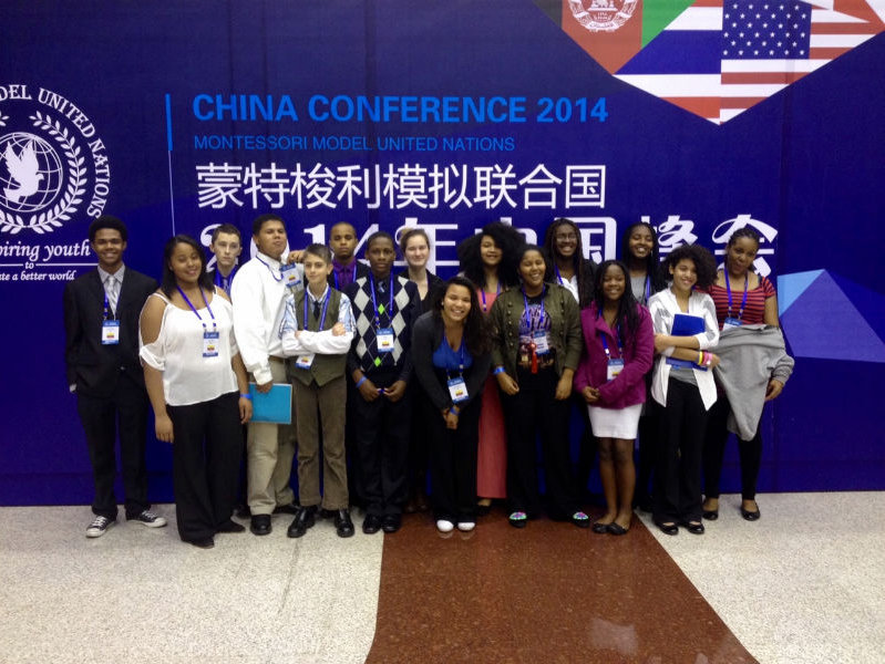 Sixteen Highland Community School adolescents left for China, but only 15 came home last week.
