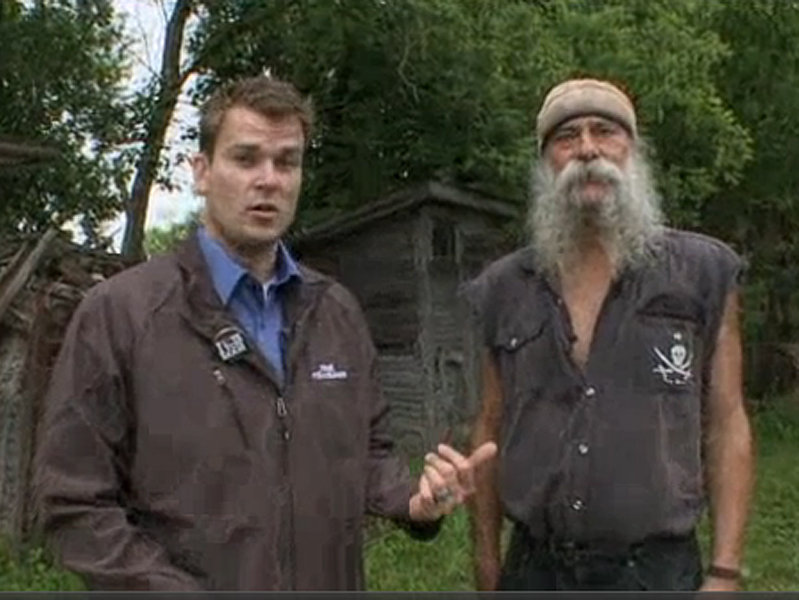 real milwaukee visits hippie tom from american pickers onmilwaukee