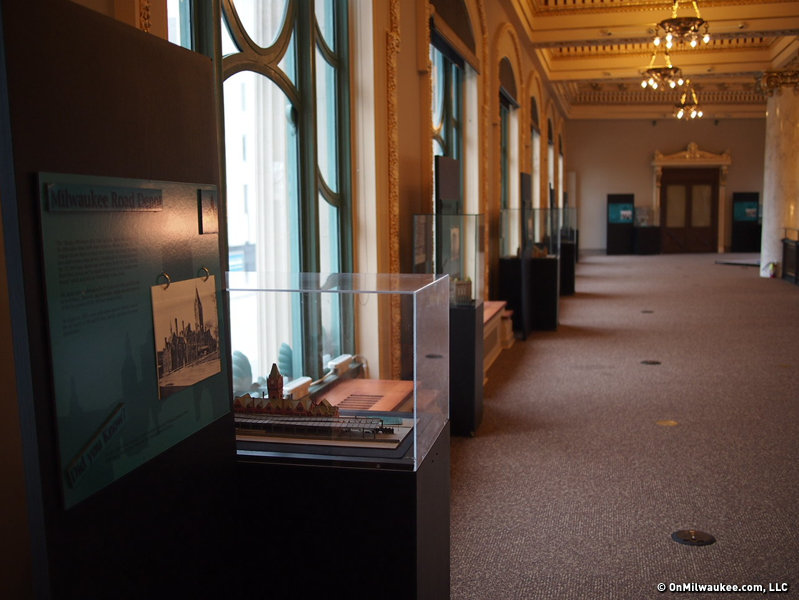 The quiet halls of the Historical Society.