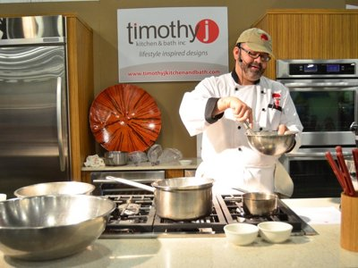 Cooking stage showcases tasty side of Realtors Home & Garden show