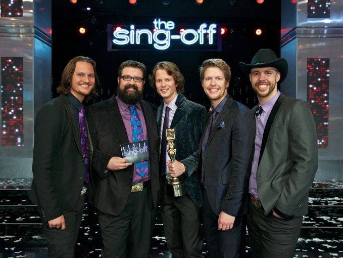 music 39 the sing off 39 champs home free bring a cappella to country. Black Bedroom Furniture Sets. Home Design Ideas