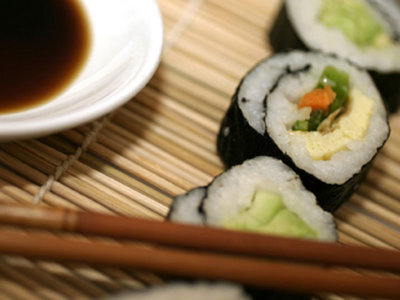 Roll your own: Making homemade sushi Image