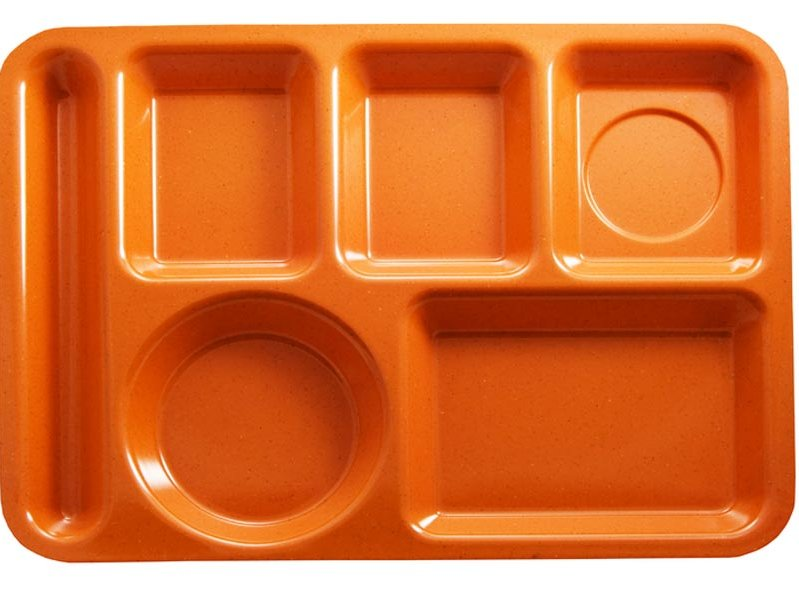 I still remember the weird smell of these lunch trays.