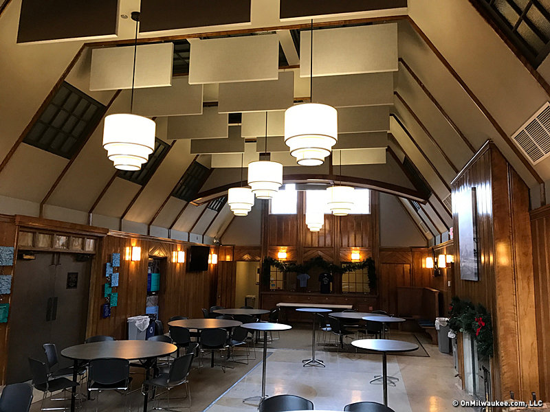 Local Stone Fireplaces In Hoyt Park >> Urban Spelunking Hoyt Park S Great Hall Onmilwaukee