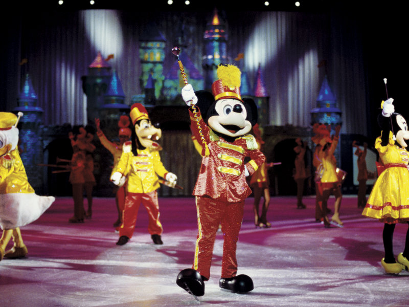 "Donate a jar of peanut butter to the Hunger Task Force's campaign and get free tickets to ""Disney on Ice."""