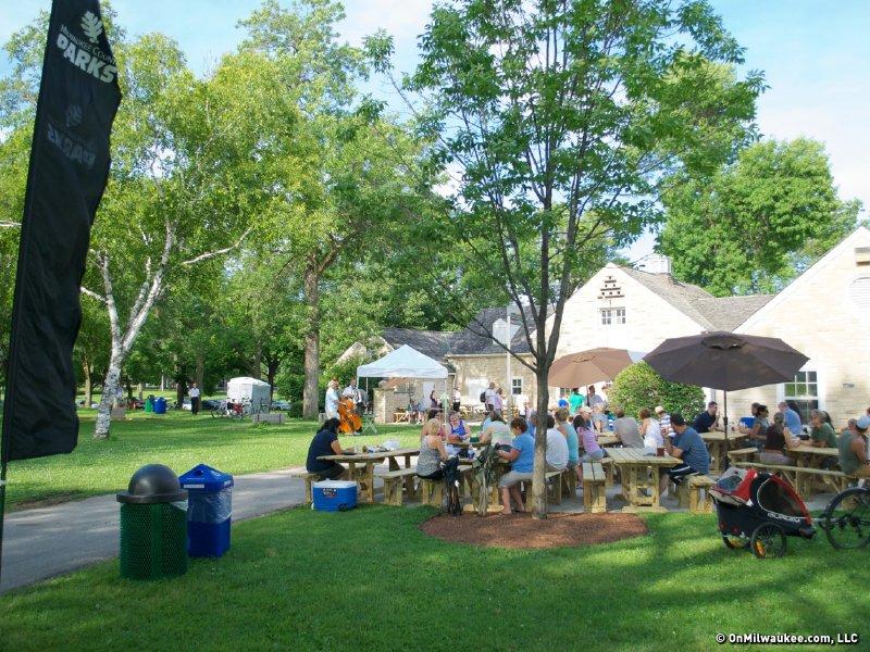 First look: Humboldt Park beer garden - OnMilwaukee