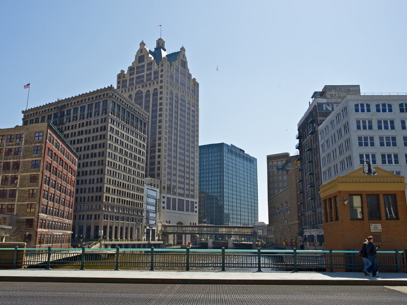 Downtown Milwaukee is growing.