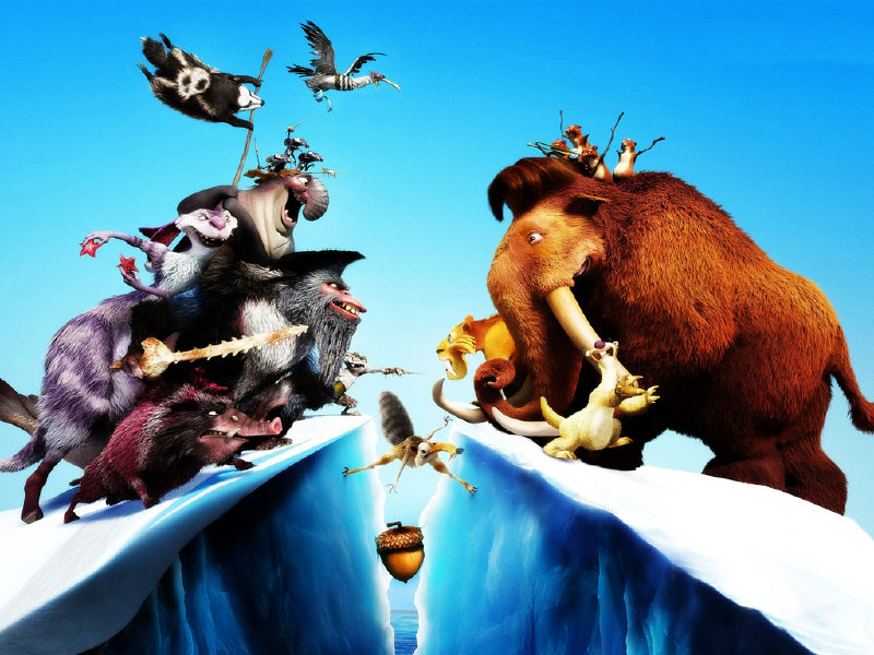 """Ice Age: Continental Drift,"" the kids series' fourth installment, opens in theaters today."