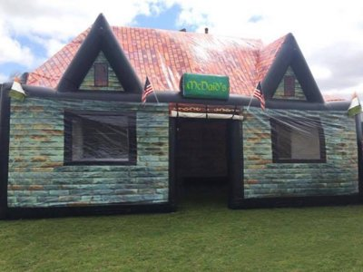 Skip the bars and buy your own inflatable pub