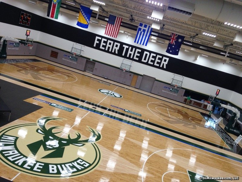 8 Awesome Places Inside The Bucks New Downtown Practice Facility