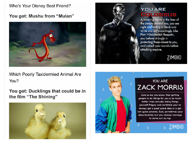 A poorly taxidermied duckling AND Zack Morris? Boss.