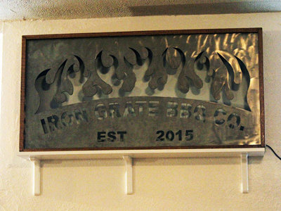 Iron Grate BBQ Co. announces opening date