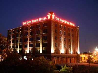 The Iron Horse Hotel is a multi-award-winning, 100-room boutique hotel.