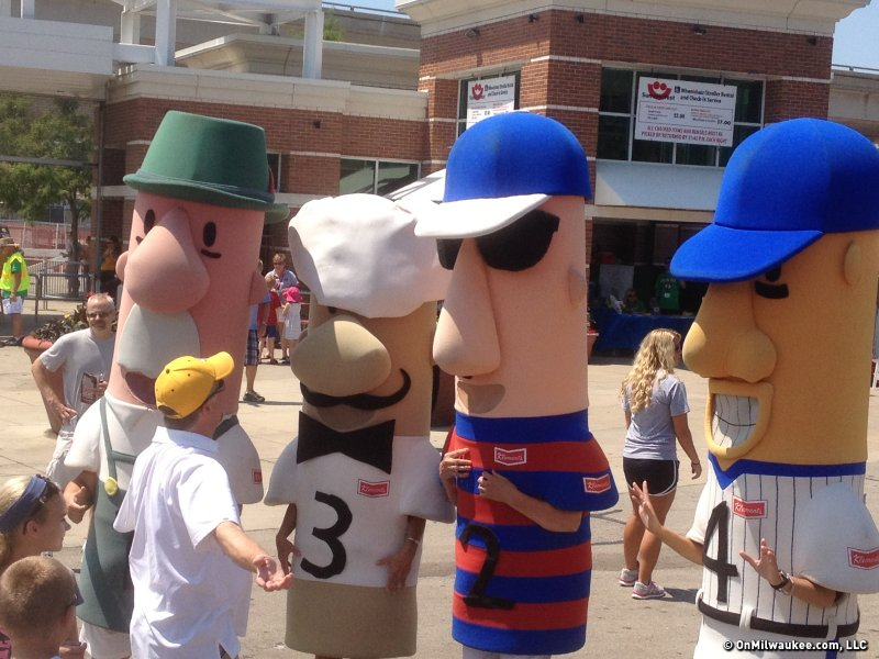 Guido, the Milwaukee Brewers' Italian Racing Sausage, is missing.