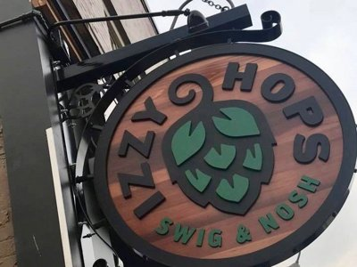Izzy Hops Swig & Nosh open next week on East Side