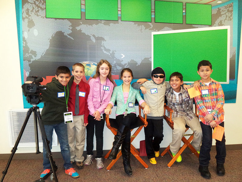 Students from MPS' Honey Creek and Burdick Schools are working at JA BizTown this month.