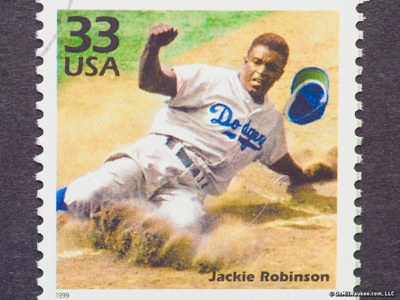 Jackie Robinson is honored today all over Major League Baseball.