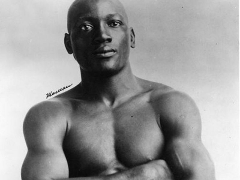 Two U.S. senators are once again asking for a pardon for boxing legend Jack Johnson.