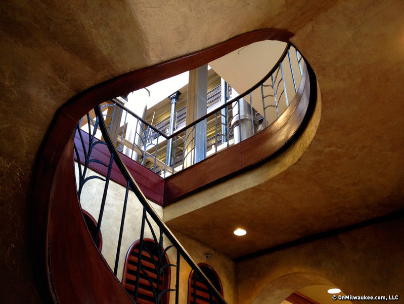 Gorman preserved a number of fine staircases in the complex.
