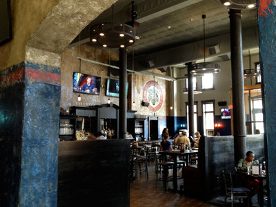 Getting acquainted with the Brewhouse's Blue Ribbon Pub
