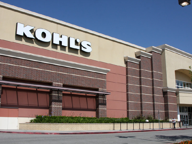 Kohl's operates more than 1,100 stores across the United States and has annual sales of about $19 billion.