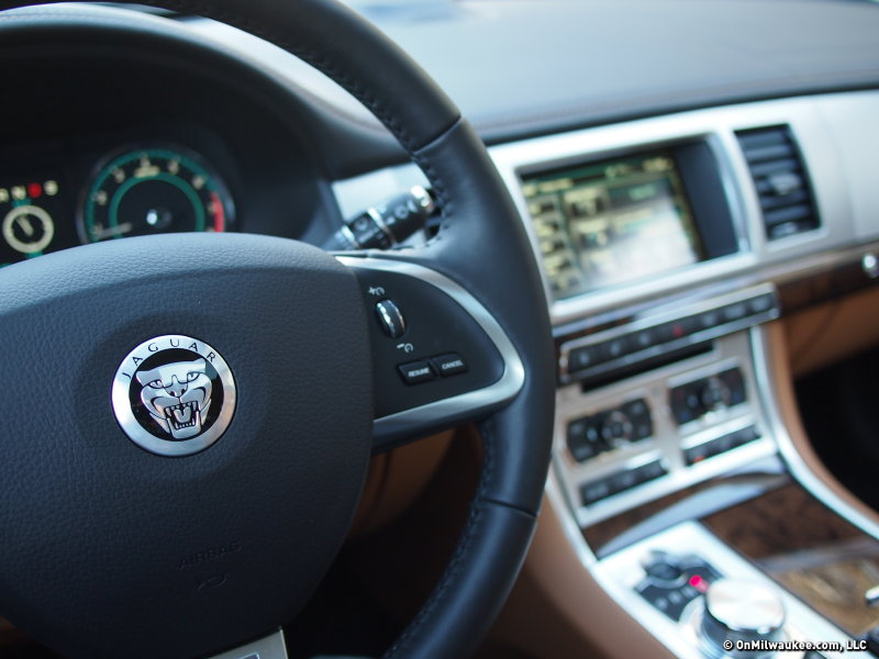 The Jaguar XF's fit and finish is top notch.