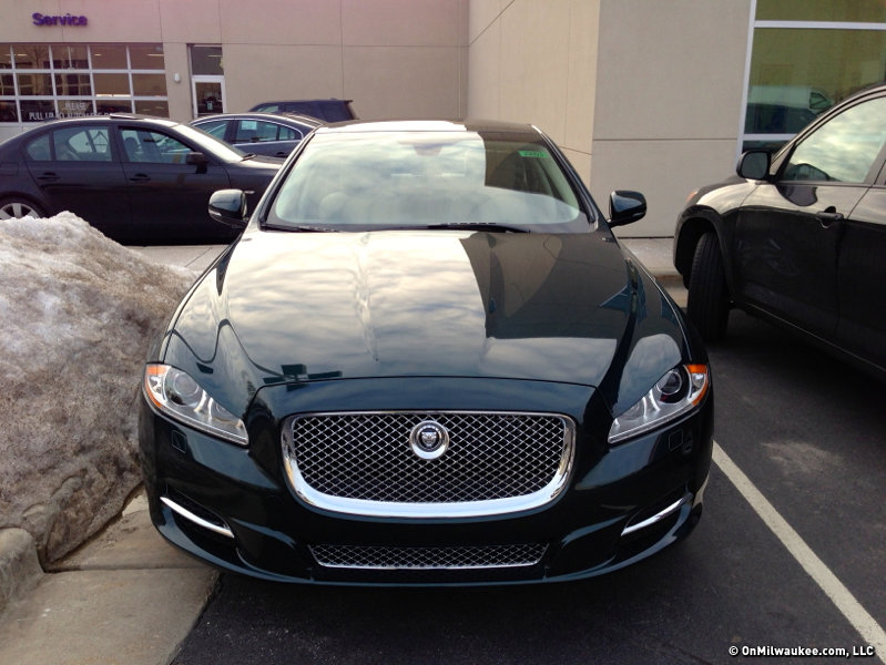 Perfection The 2013 Jaguar Xj