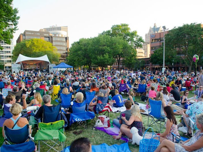 Jazz in the park announces its 2017 lineup onmilwaukee for Jazz in the gardens 2017 dates