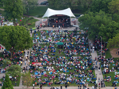 The Bad Plus opens Jazz in the Park's 20th anniversary season on June 3  Image