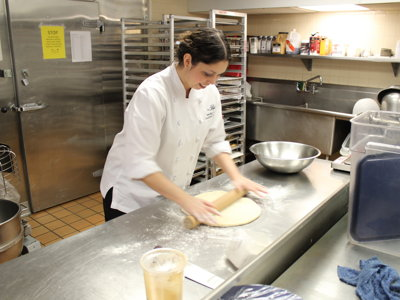 Pastry in Milwaukee:  The Pfister's Jennifer Carlson