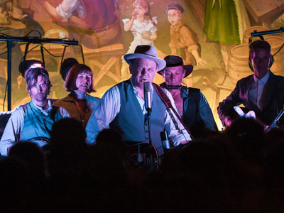 John C. Reilly, friends fill Miller Caves with music
