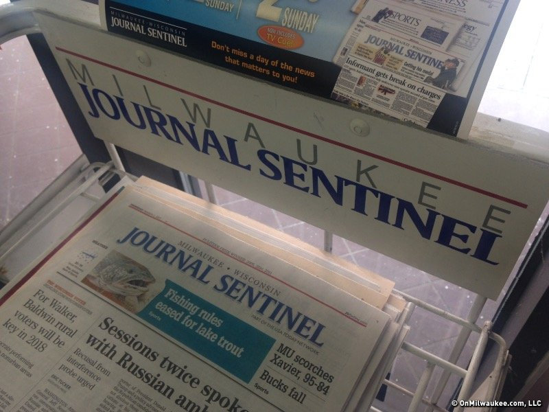 The daily newspaper is on life support and the plug is being